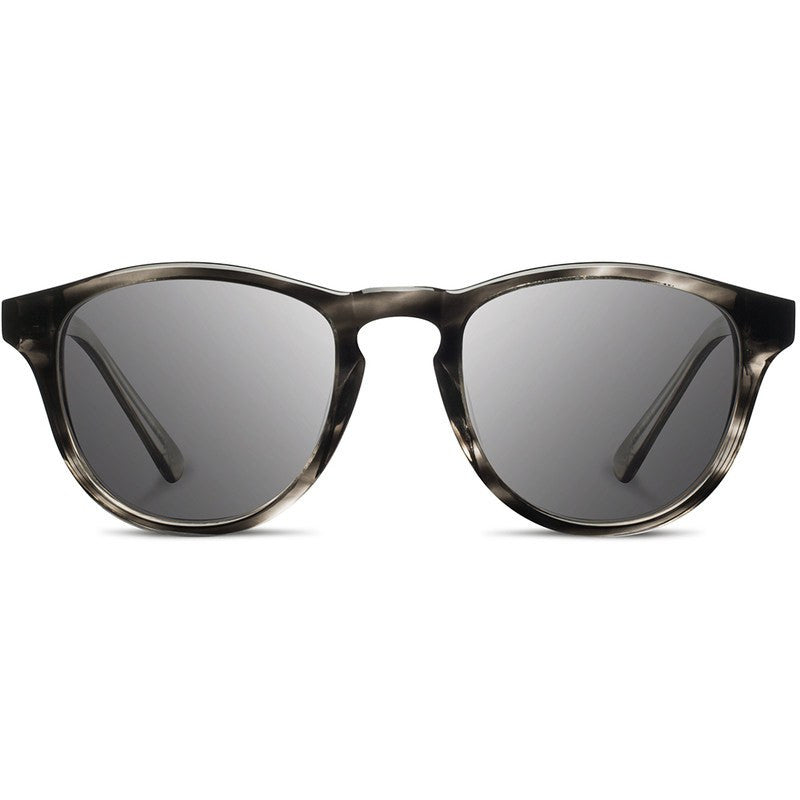 Shwood Francis Acetate Fifty Fifty Sunglasses | Pearl Grey & Elm Burl / Grey Polarized