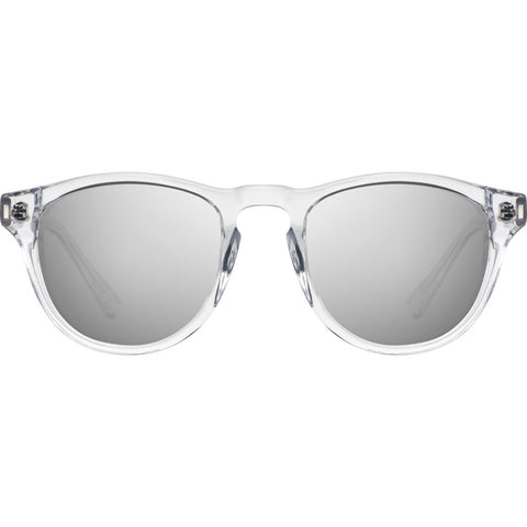 Shwood Francis Sunglasses | Crystal & Abalone Shell / Silver Mirror-WAFC2ASS