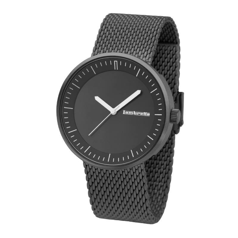 Lambretta Franco Watch | Mesh Black 2165BLA