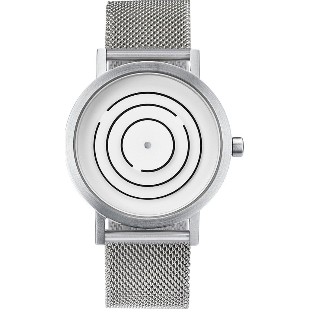 Projects Watches Free Time Watch | Grey/Steel Mesh 8901 GM40 40mm