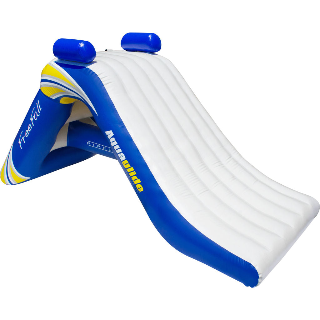 Aquaglide Freefall 6 Inflatbale Water Slide | Yellow/White/Blue 58-5211106