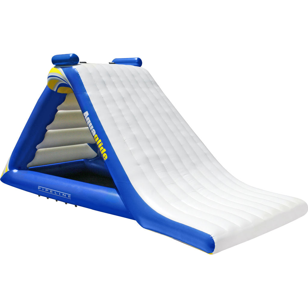 Aquaglide Freefall Extreme Inflatable Water Slide | Blue/White/Yellow 58-5210006