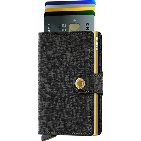 Secrid Mini Wallet | Black MC Black-Gold