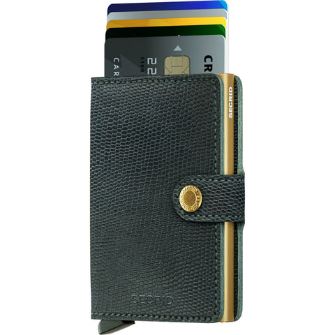 Secrid Mini Wallet | Green MRa Green Gold