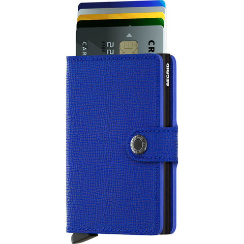 Secrid Mini Wallet Crisple | Blue/Black MC-Blue-Black