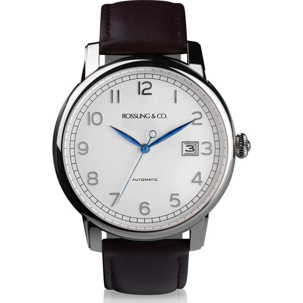 Rossling & Co. Opera Automatic Watch |  Silver