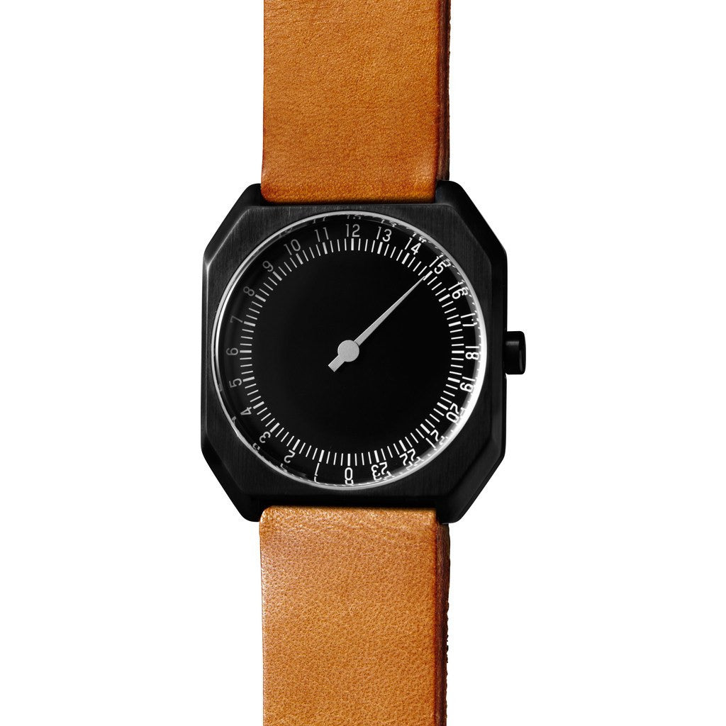 slow Jo 19 Black Watch | Brown Vintage Leather X000JADHE5