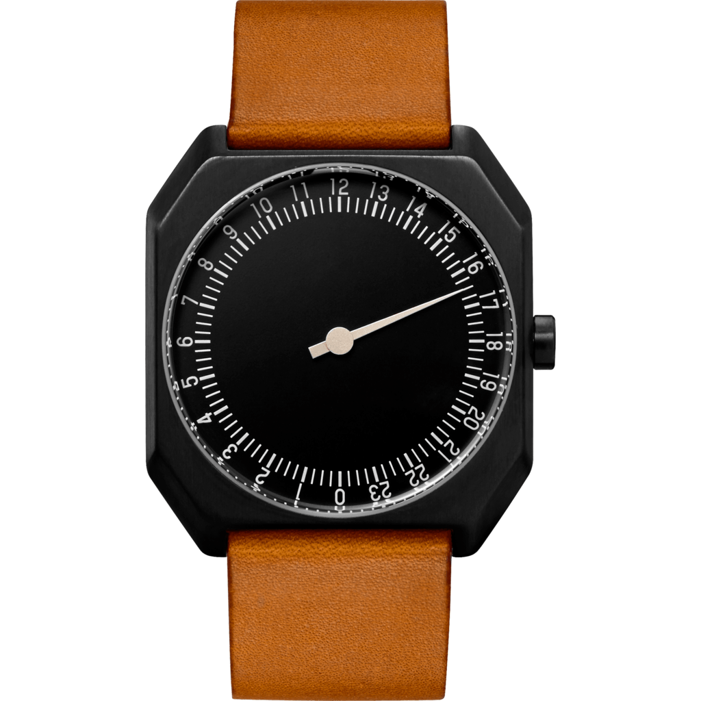 slow Jo 19 Black Watch | Brown Vintage Leather X000JADHE6
