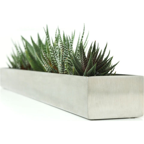 Gus* Modern Fruit Trough Planter | Stainless Steel ACDCFRTR