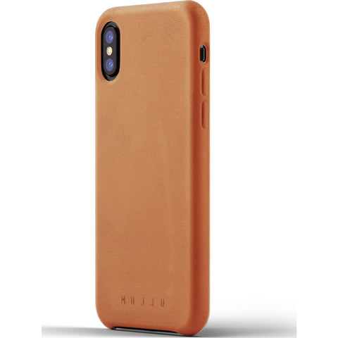 Mujjo Leather Case for iPhone X | Tan MUJJO-CS-095-TN