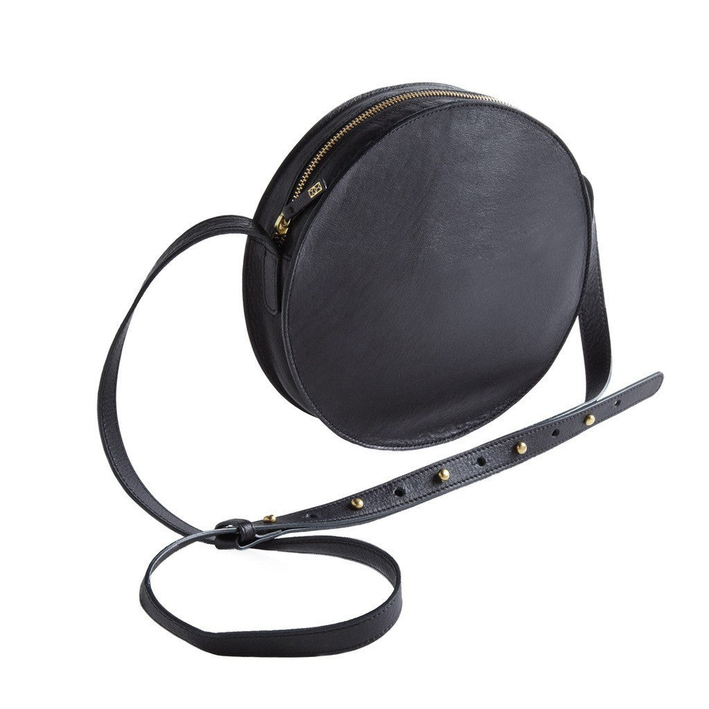 Minor History Full Moon Round Crossbody | Black FMN_360_C