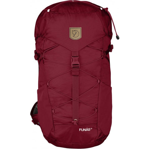 Fjällräven Funäs 25 Daypack Backpack | Ox Red 26011-326