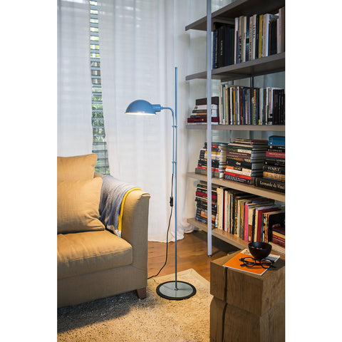 Marset Funiculi Floor Lamp | Blue