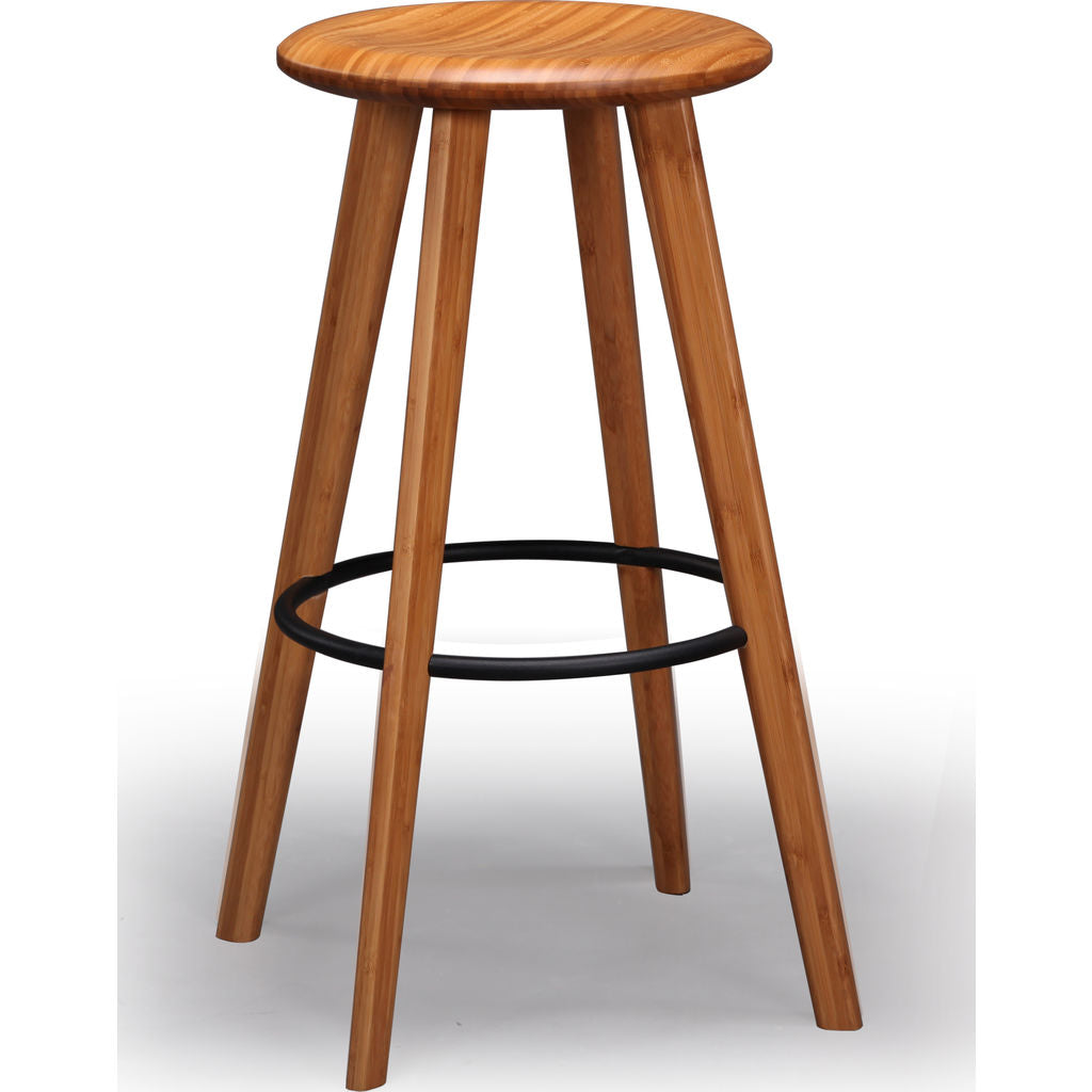 Greenington Mimosa Height Stool (Set of 2) | Caramelized