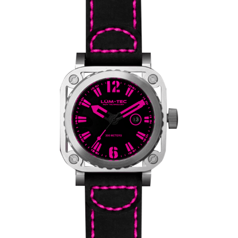 Lum-Tec G10 Watch | Leather Strap
