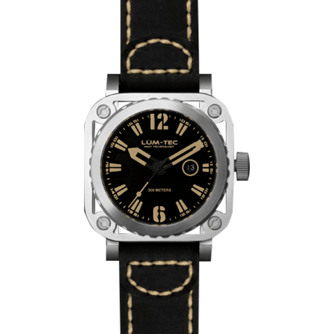Lum-Tec G1 Watch | Leather Strap
