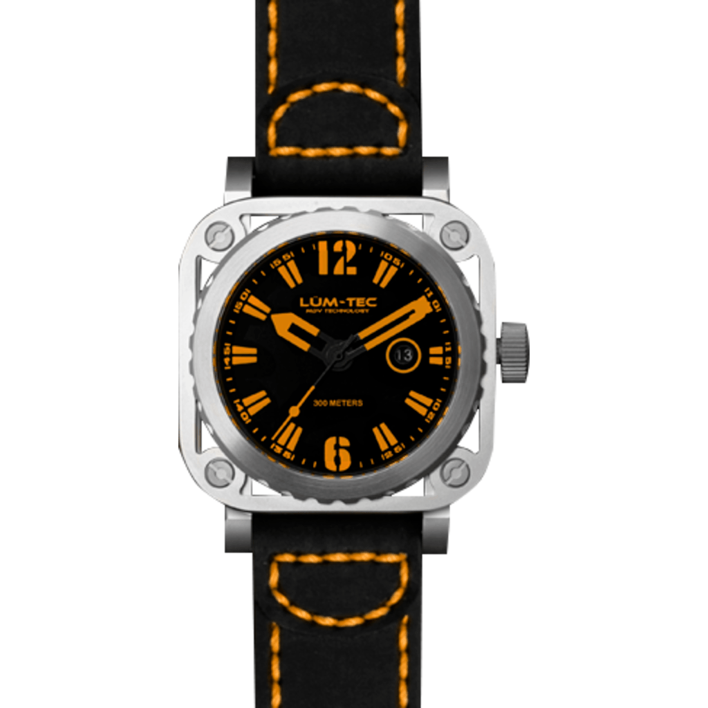 Lum-Tec G3 Watch | Leather Strap