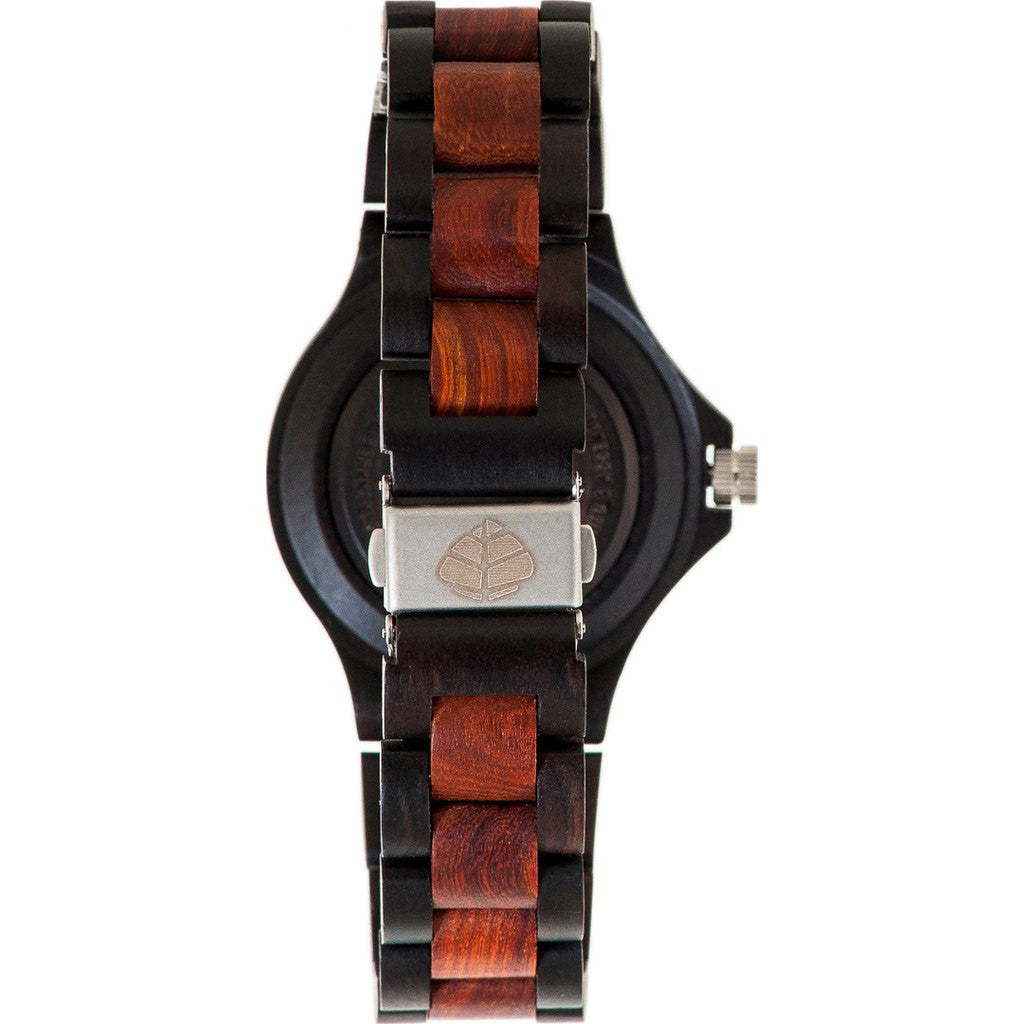 Tense Compass Watch | Dark Sandalwood/Rosewood G4100DR-B