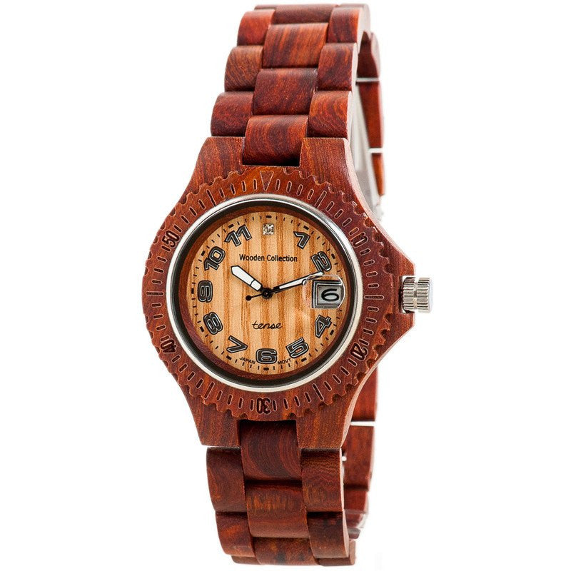 Tense Compass Discovery Men's Watch Sandalwood | G4100S