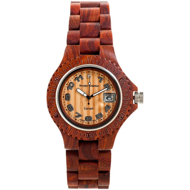 Tense Mini Compass Discovery Women's Watch Sandalwood | L4100S