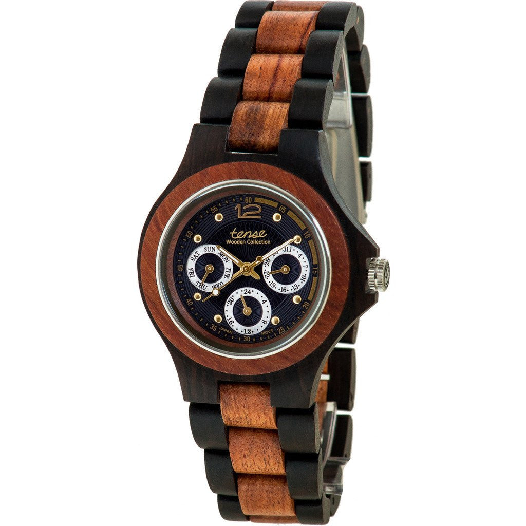 Tense Northwest Watch | Dark Sandalwood/Rosewood G4300DR-BG