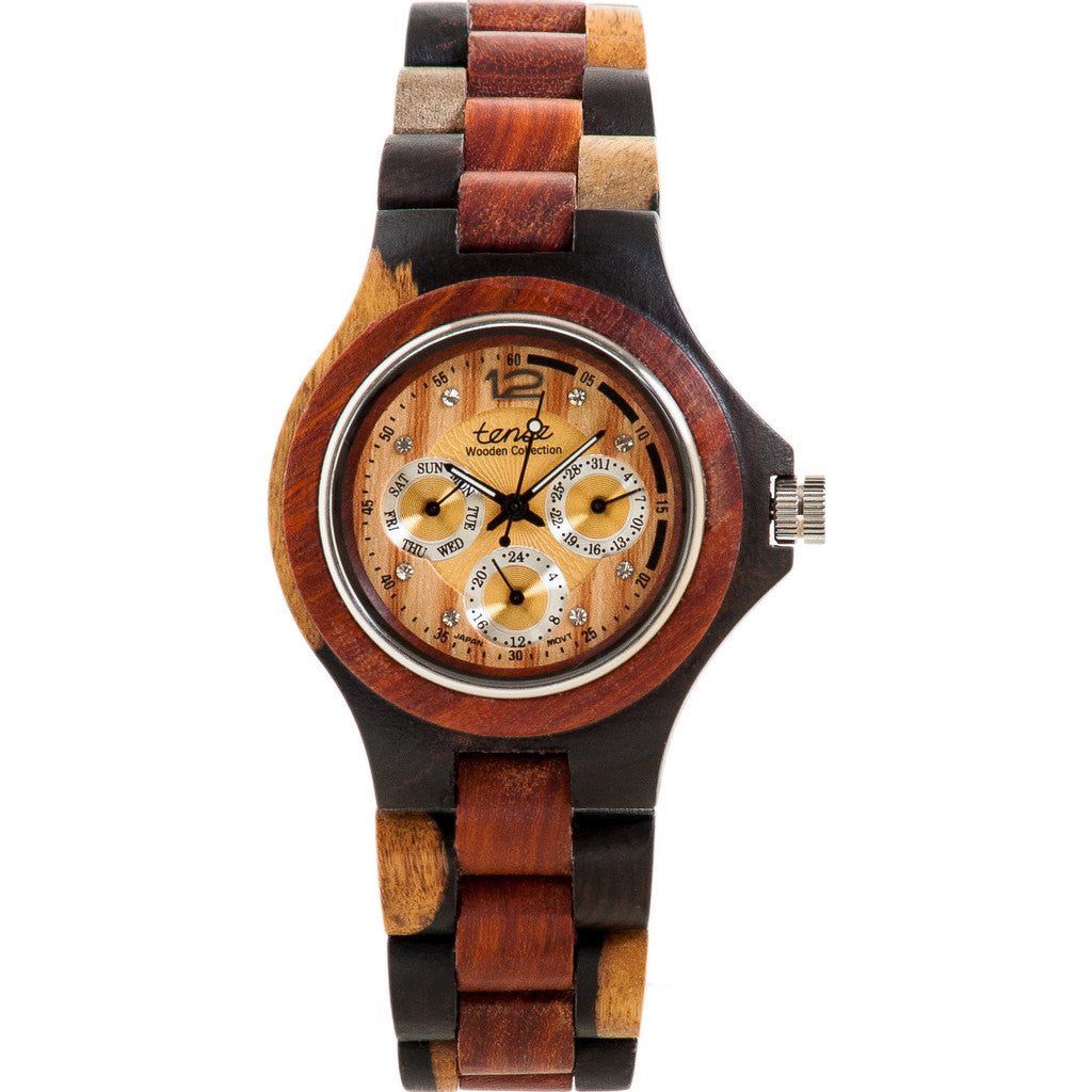 Tense Northwest Watch | Dark Dual Tone Sandalwood/Sandalwood G4300IDM