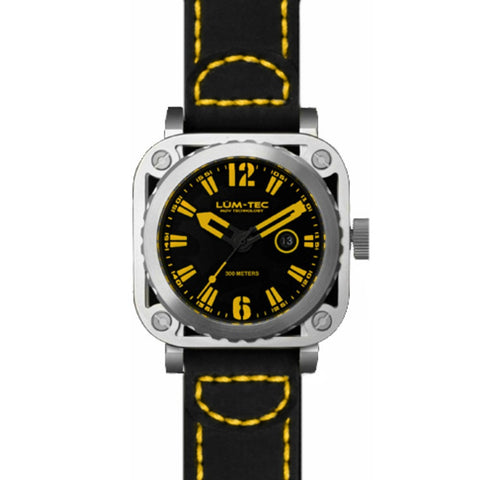 Lum-Tec G4 Watch | Leather Strap