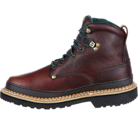 G6374 - Georgia Giant Steel Toe Work Boot Medium | Brown