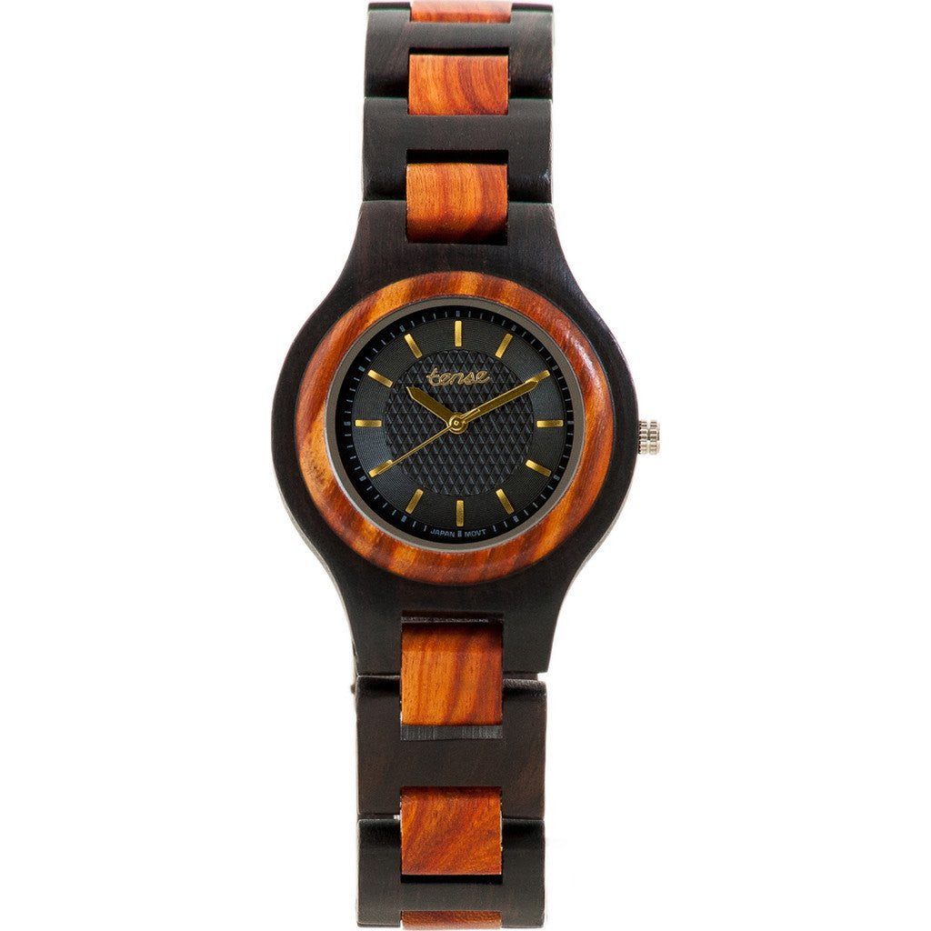 Tense Pacific Watch | Dark Sandalwood/Rosewood G7509DR-BG