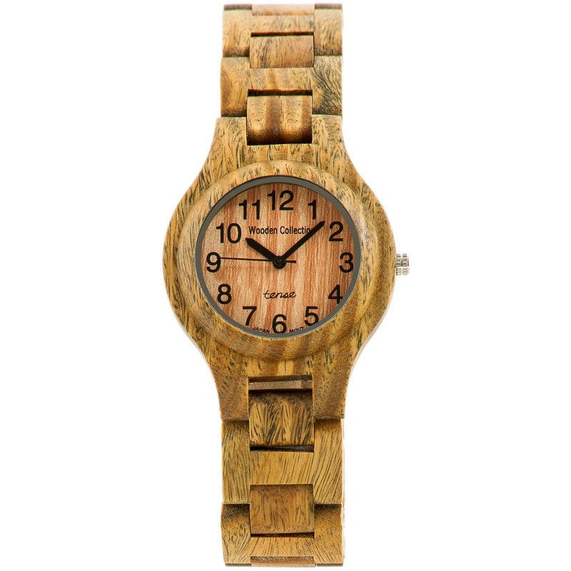 Tense Pacific Coastal Men's Watch Green Sandalwood | G7509G