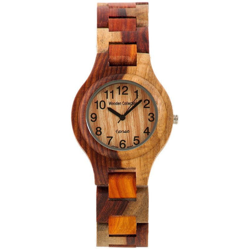 Tense Pacific Coastal Men's Watch Dual-tone Sandalwood | G7509I