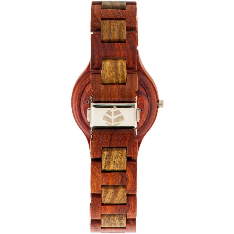 Tense Pacific Coastal Men's Watch Sandalwood/Green | G7509SG