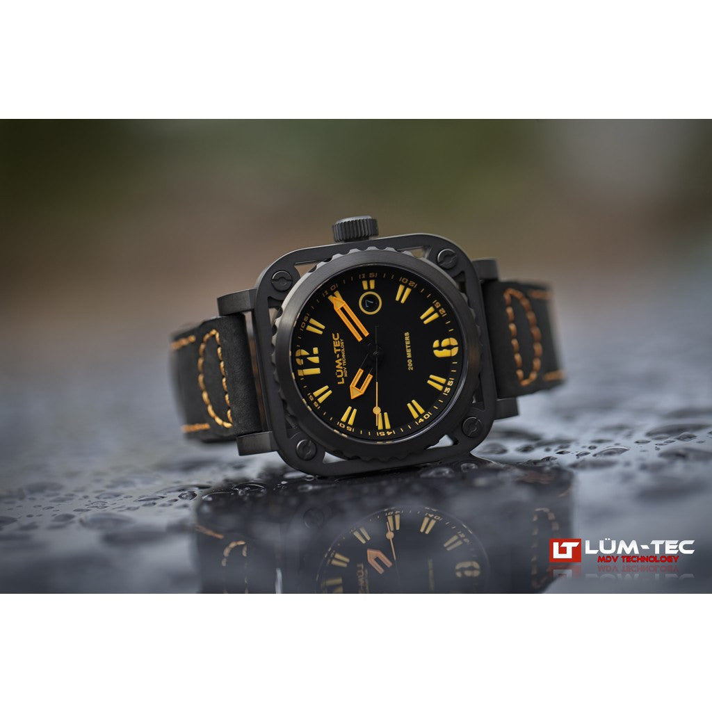 Lum-Tec G7 Watch | Leather Strap
