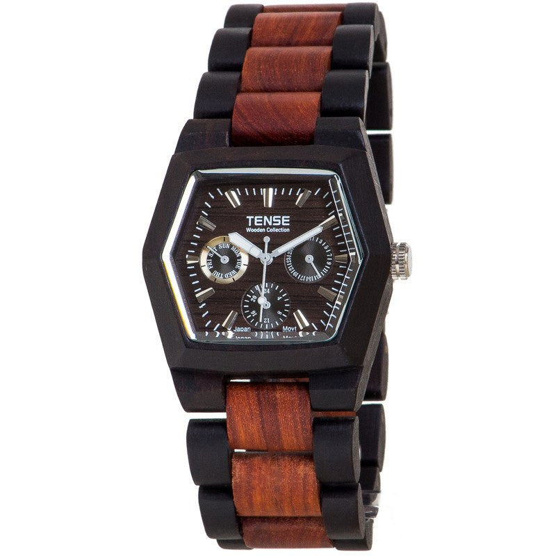 Tense Marmot Adventure Unisex Watch Dark Sandalwood/Sandalwood | G8303DS