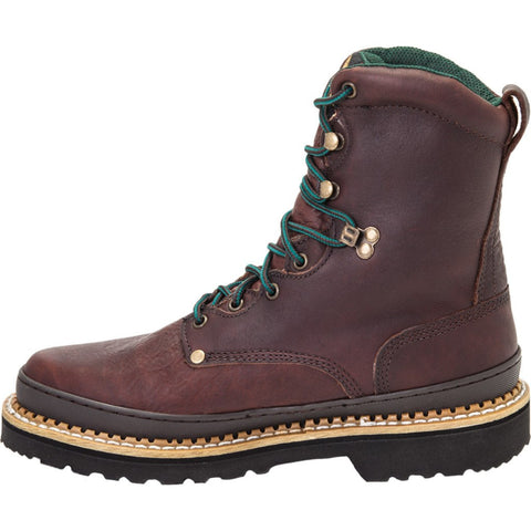 G8374 - Georgia Giant Steel Toe Work Boots Medium | Brown
