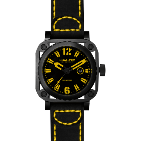Lum-Tec G8 Watch | Leather Strap