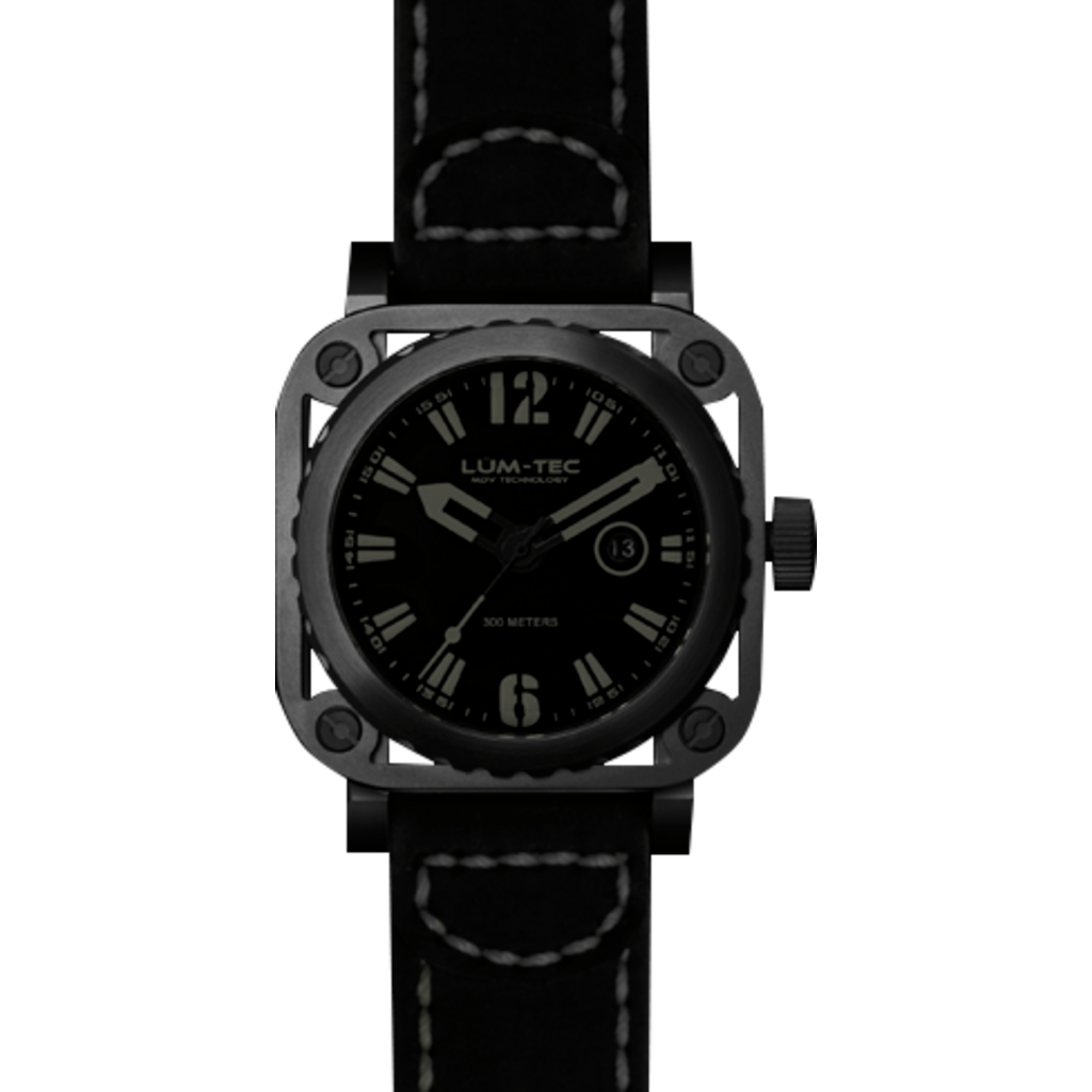 Lum-Tec G9 Phantom Watch | Leather Strap