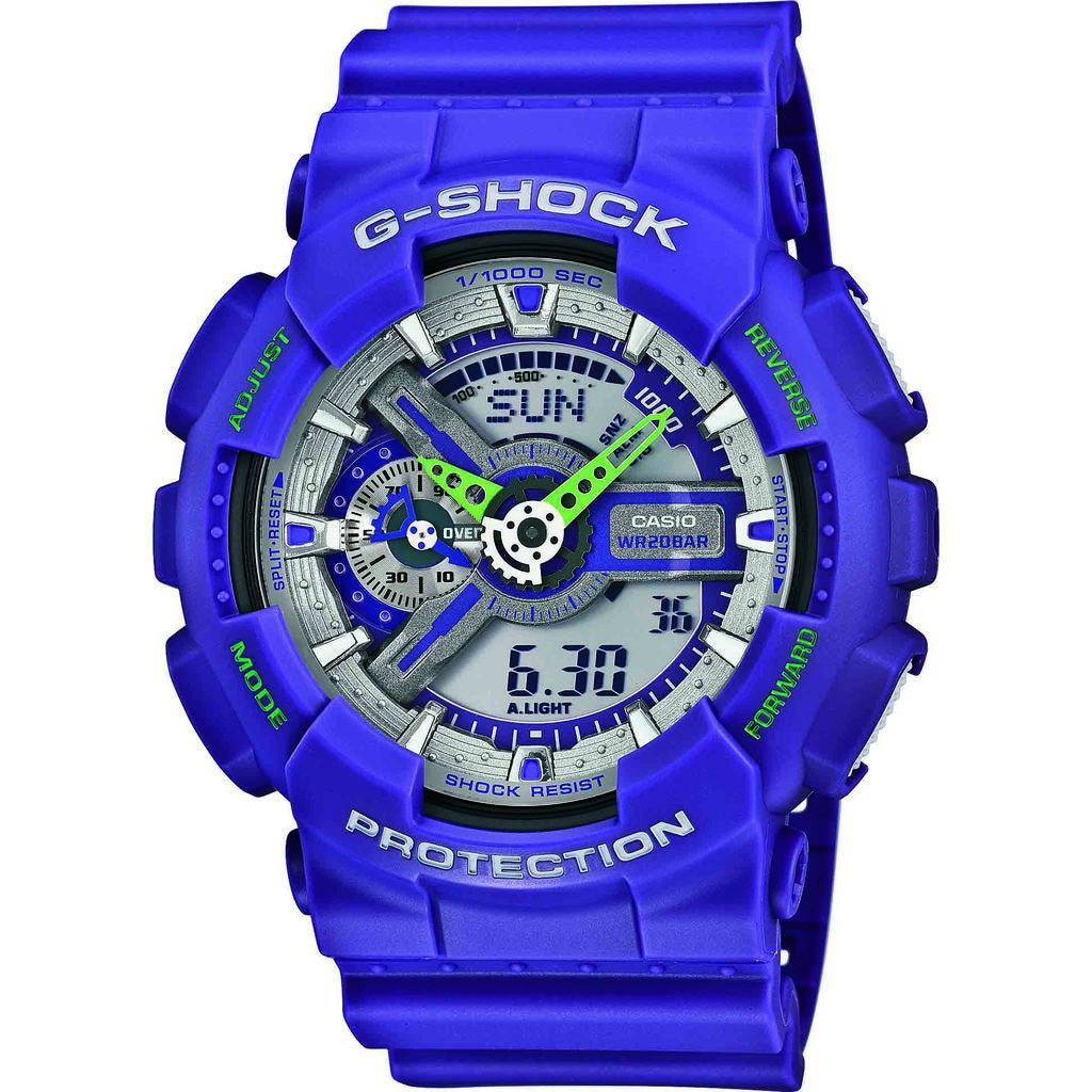 Casio G-Shock Dusty Neon Watch | Purple GA110DN-6A