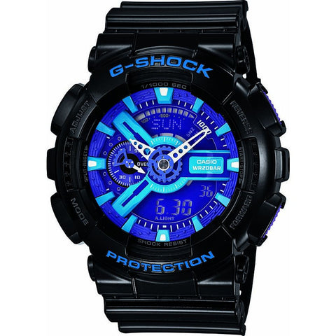 Casio G-Shock GA-110HC-1ACR Watch | Black/Blue