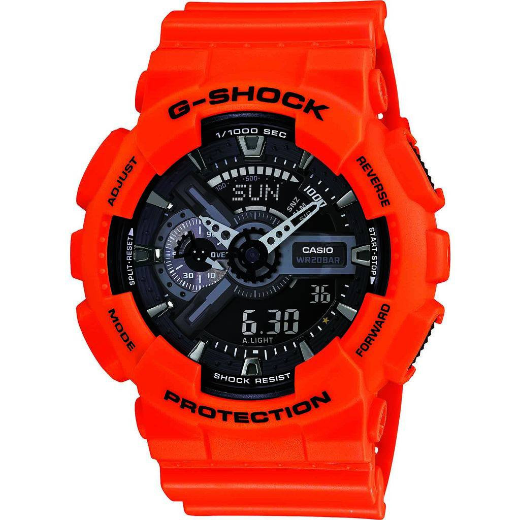 Casio G-Shock Rescue Resin Quartz Watch | Black GA110MR-4A