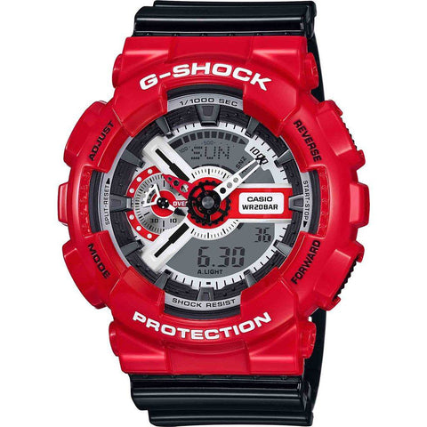 Casio G-Shock Black 'n Red Series GA110RD-4A Watch | Black/Red