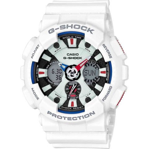 Casio G-Shock Tricolor Series GA120TR-7A Watch | Red/White/Blue