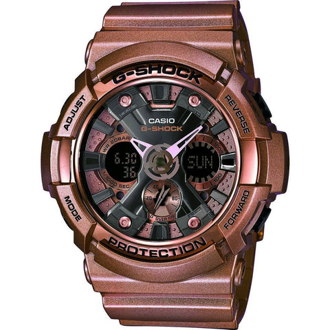 Casio G-Shock Resin Quartz Watch | Rose Gold GA200GD-9B
