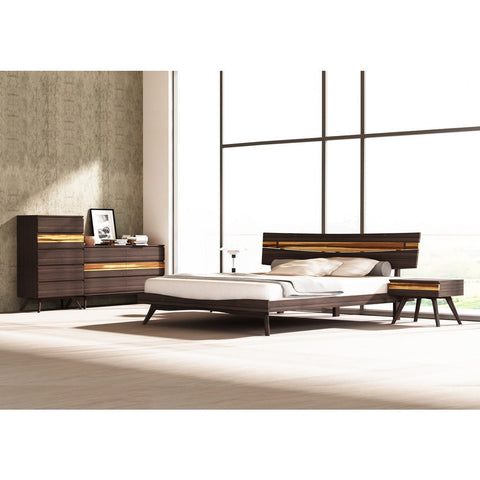 Greenington Azara King Eastern Platform Bed | Sable GA0002KSA