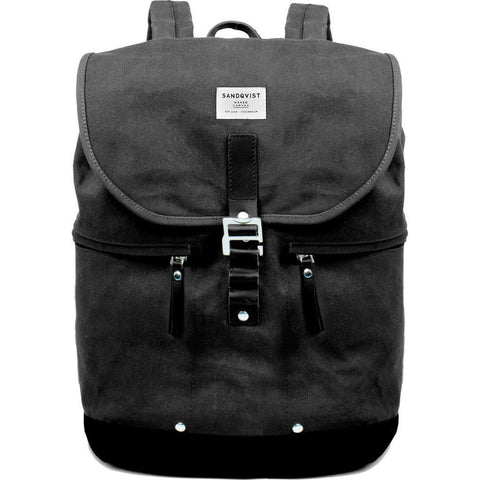 Sandqvist Gary Backpack | Waxed Black SQA662