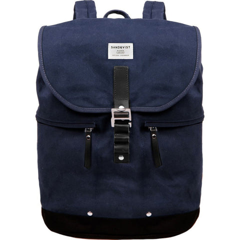 Sandqvist Gary Backpack | Waxed Blue SQA663