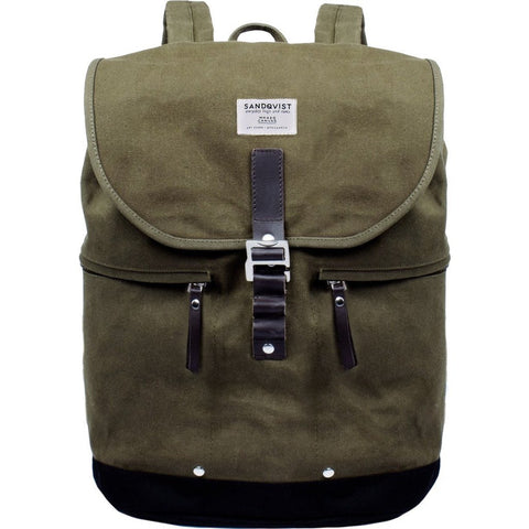 Sandqvist Gary Backpack | Waxed Olive SQA664