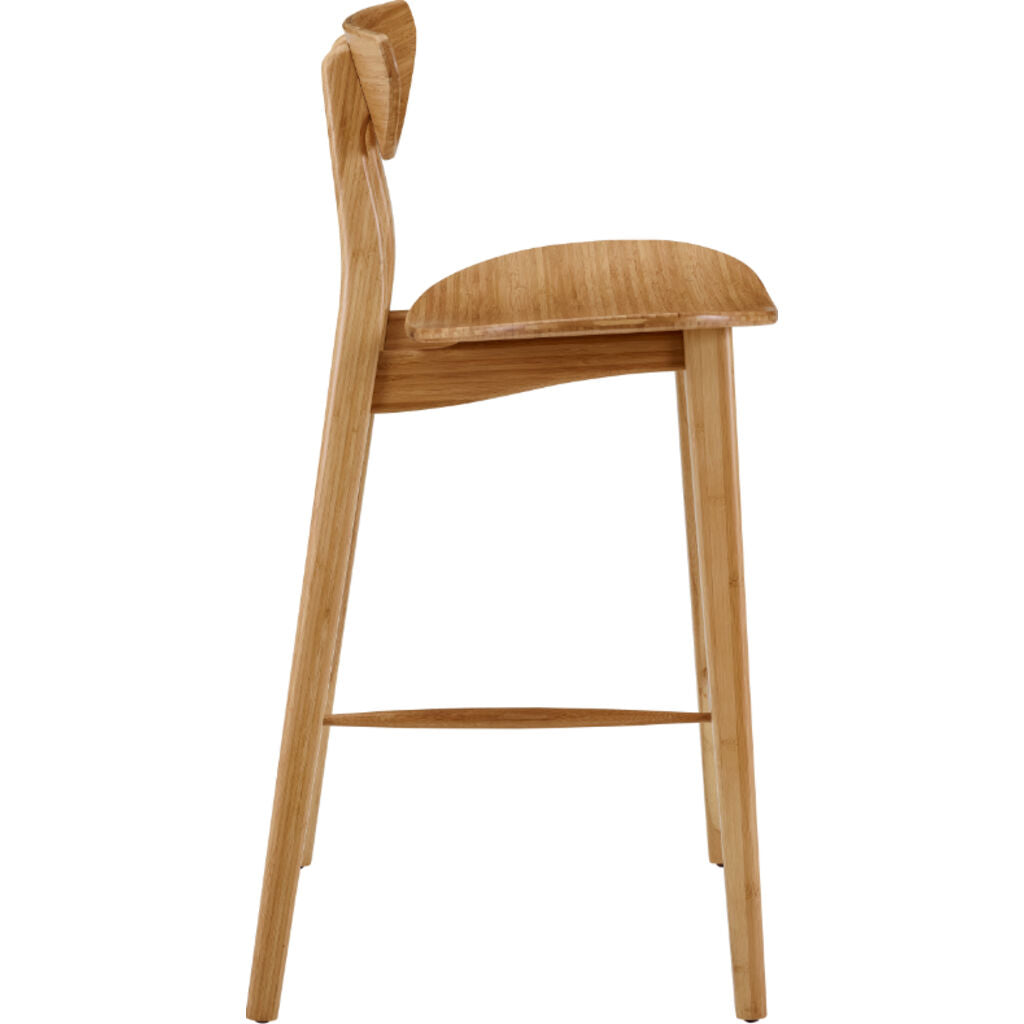 "Cosmos 30"" Bar Height Stool - Caramelized (Set of 2)"
