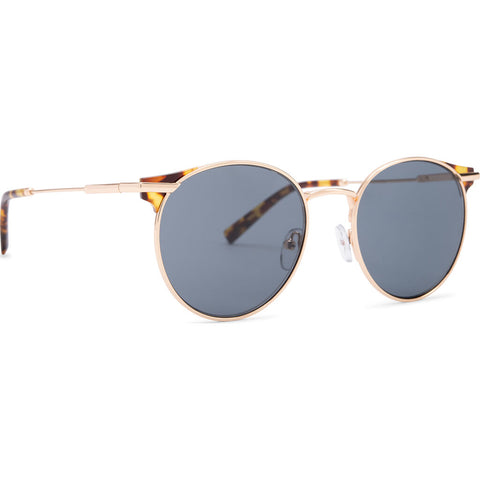 DIFF Eyewear Summit Sunglasses | Gold, Amber Tortoise + Grey Polarized
