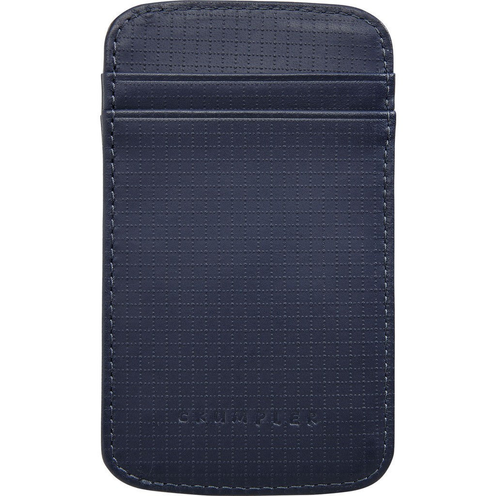 Crumpler Golden Fleece Leather Card Holder | Midnight Blue GFB001-U12000